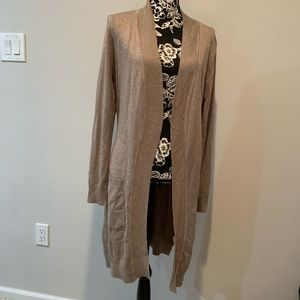 Cielo brown cardigan open front